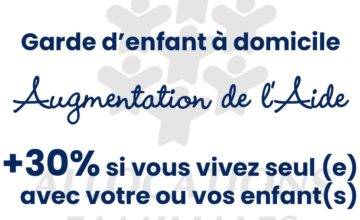 AIDE CAF- COMPLEMENT DE LIBRE CHOIX DU MODE DE GARDE (CMG)