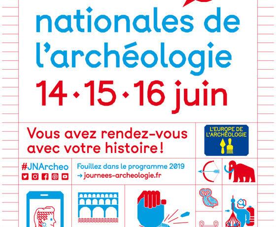 Journées Nationales de l'archélogie – JUIN 2019